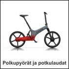 Polkupyörät ja potkulaudat