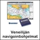 Veneilijän navigointiohjelmat