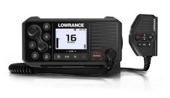 Lowrance LINK-9 VHF-radiopuhelin ja AIS-vastaanotin sisäisellä GPS:llä