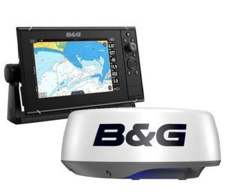 B&G Zeus3S 9 monitoiminäyttö + Halo20+ tutka