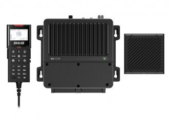 B&G V100 modulaarinen VHF-radiopuhelin sisäisellä GPS:llä