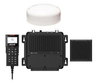 B&G V100-B modulaarinen VHF-radiopuhelin ja AIS-vastaanotin sisäisellä GPS:llä