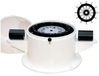 Autonautic C20-00128 pöytäasennettava kompassi 125 mm ruusulla alumiini- ja teräsaluksiin