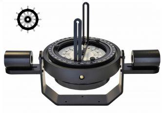 Autonautic C20-00138 sanka-asennettava kompassi 125 mm ruusulla teräsaluksiin