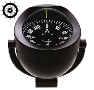 Autonautic C12-001 sanka-asennettava kompassi 85 mm ruusulla, musta