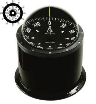 Autonautic CHE-0073 pinta-asennettava kompassi 140 mm ruusulla, musta