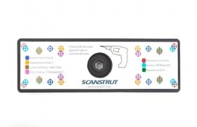 Scanstrut ROKK-kiinnikkeen RL-513 kiinnityslevy