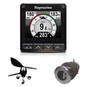 Raymarine i70s monitoimimittari loki/kaiku/lämpö ja tuulianturilla