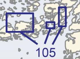 Satamakartta 105, Lövskär, Askgrund & Parainen 1:20 000