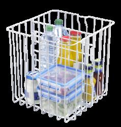 Jäähdytys-/pakastusosa sisäkorilla ja erillinen viileäosasto tuoretuotteille, vihanneksille yms.