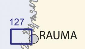 Satamakartta 127 Rauma 1:20 000