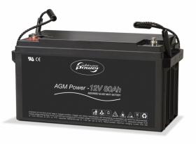 Whisper Power AGM100 syväpurkausakku