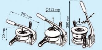 Plastimo käsipumppu 25 mm yhteillä