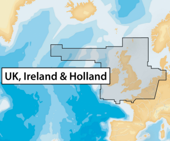 Navionics+ 28XG UK, IRELAND & HOLLAND