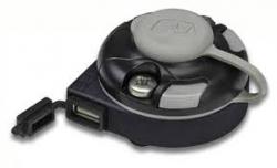 Railblaza Starport E, USB-latauksella, musta
