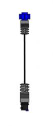 Simrad/Lowrance adapterikaapeli 9 Pin Musta liitin -> 7 Pin Sininen liitin
