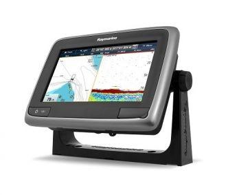 Raymarine a77 WiFi monitoiminäyttö kaiulla ja  sisäisellä GPS:llä
