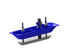 Simrad/Lowrance StructureScan™ viistokaiku pohjanläpianturi, teräs