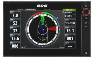 B&G Zeus2 Touch 12 monitoiminäyttö 12