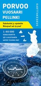 Veneilykartta Porvoo-Vuosaari-Pellinki 1:60 000