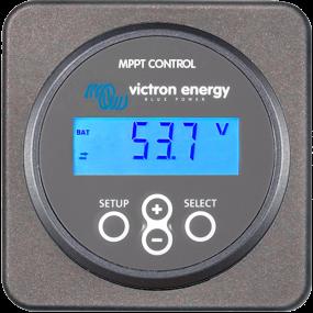 Victron MPPT lataussätimen näyttö