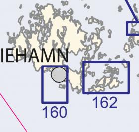 Satamakartta 162, 1:25 000 Långnäs–Sottunga