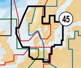 Navionics+ 45XG SKAGERRAK & KATTEGAT