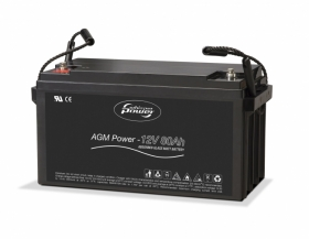 Whisper Power AGM80 syväpurkausakku