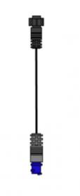 Simrad/Lowrance adapterikaapeli 7 Pin Sininen liitin -> 9 Pin Musta liitin
