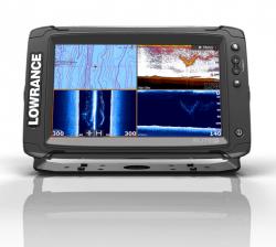 Lowrance ELITE-9 Ti TotalScan kaikuluotain/karttaplotteri