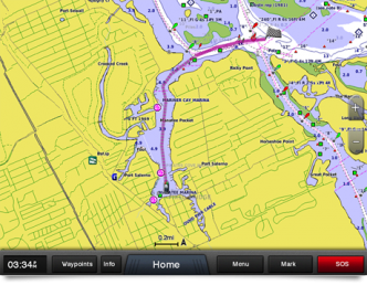 Garmin BlueChart g2 Vision HD, VEU065R Baltic Sea, East Coast