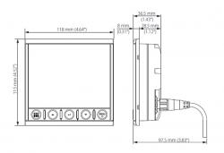 B&G Triton² monitoiminäyttö loki/kaiku/tuuli-paketti