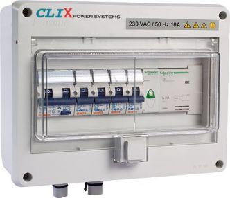 CLIX POWER maasähkökeskus MK3 invertteriliitännällä