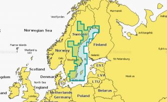 Navionics XL3 Platinum+ 13P+ Sweden East Coast