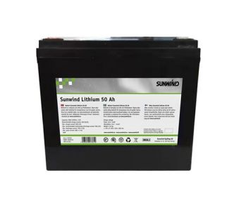 Sunwind Lithium-akku 50 Ah