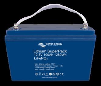 Victron Lithium SuperPack 12,8 V / 100 Ah