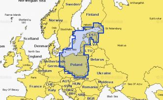 Navionics XL3 Platinum+ 16P+ South Baltic