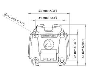 Scanstrut ROKK Mini ruuvattava pohjalevy