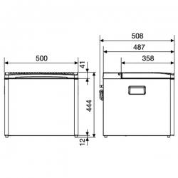 Dometic CombiCool ACX 40 kannettava kylmiö 230V/12V/Kaasu