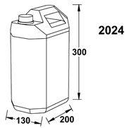 Wallas Polttoainesäiliö 5 litraa