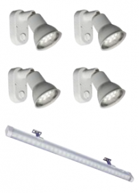 Sunwind LED-valaisinpaketti Basic