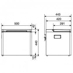Dometic CombiCool ACX 35 kannettava kylmiö 230V/12V/Kaasu