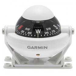 Garmin 58 Star valkoinen kompensaattorilla ja valaistuksella