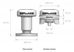 Zipwake GPS-antenni