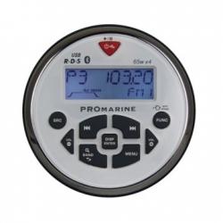 LTC Promarine FM-radio Bluetooth yhteydellä, valkoinen