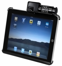 RAM Lukollinen pidike iPad, pyöreälle kiinnikkeelle