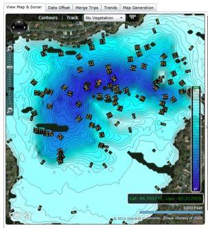 Lowrance Insight Genesis karttojen lataus/aktivointikortti