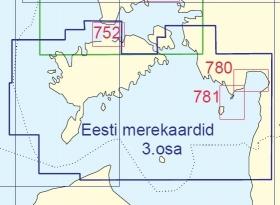 Charts of Estonia, Vol 3, Saaremaa to Ruhnu