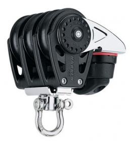 Harken 40 mm Carbo triplaploki lukolla