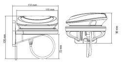 Simrad/Lowrance/B&G Precision-9 NMEA2000 Kompassianturi
